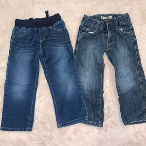 Two Pairs of 3T Gymboree Jeans